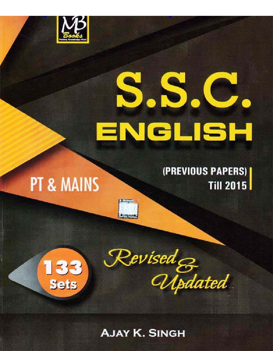 MB ENGLISH BOOK ( Grammar part)