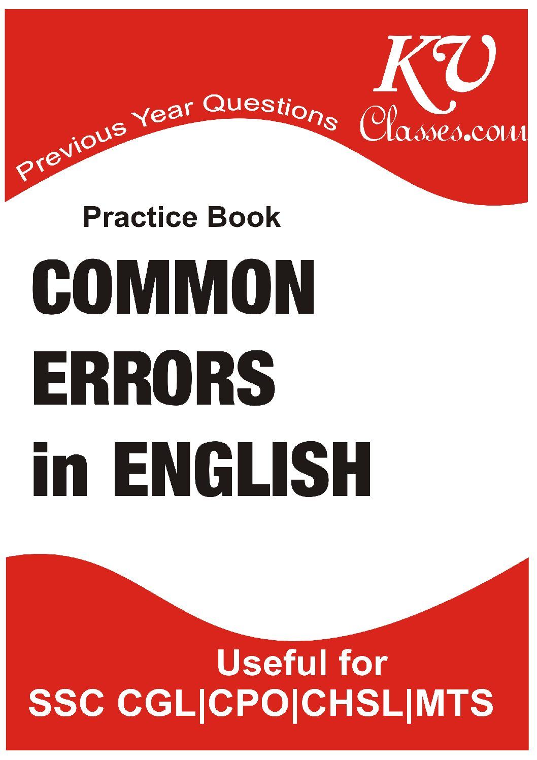 SSC PREVIOUS COMPLETE COMMON ERROR in PDF Download