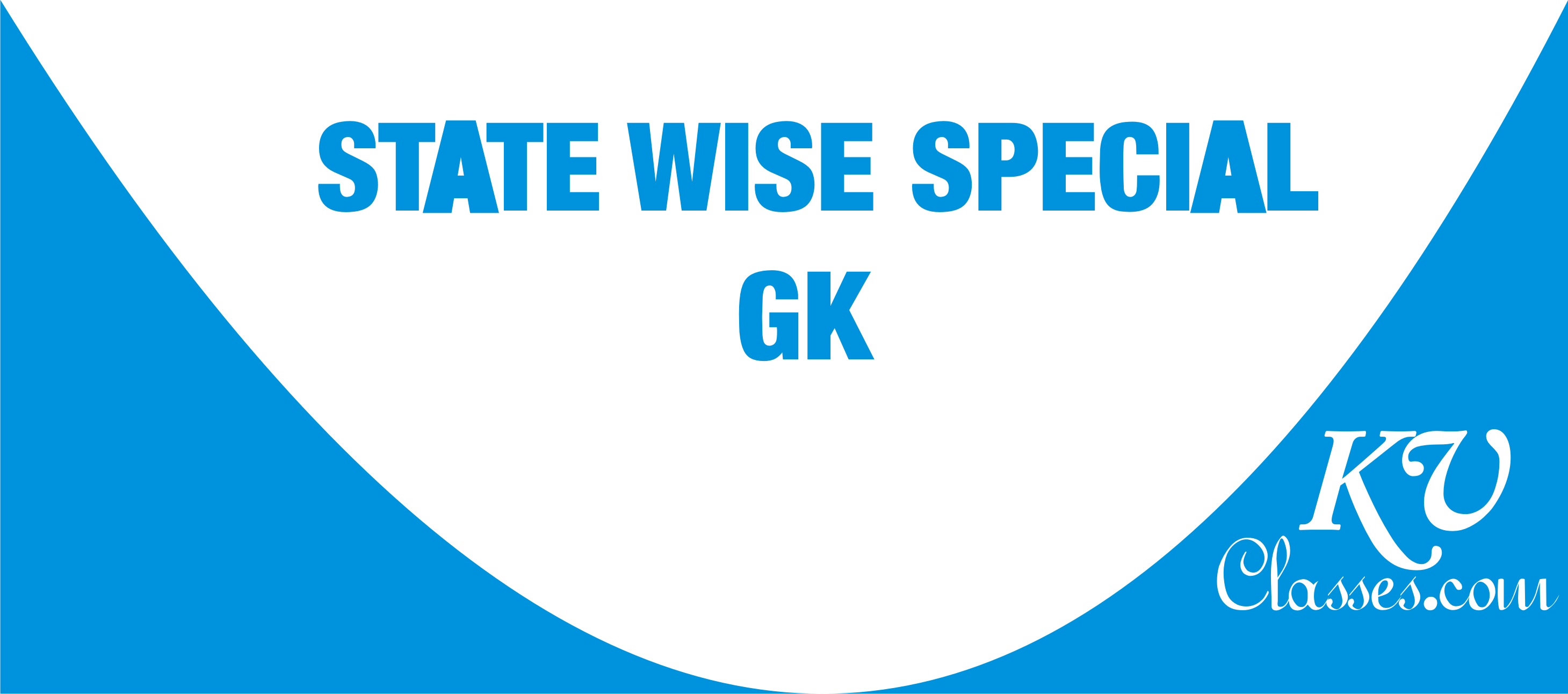 STATE WISE SPECIAL GK Pdf download