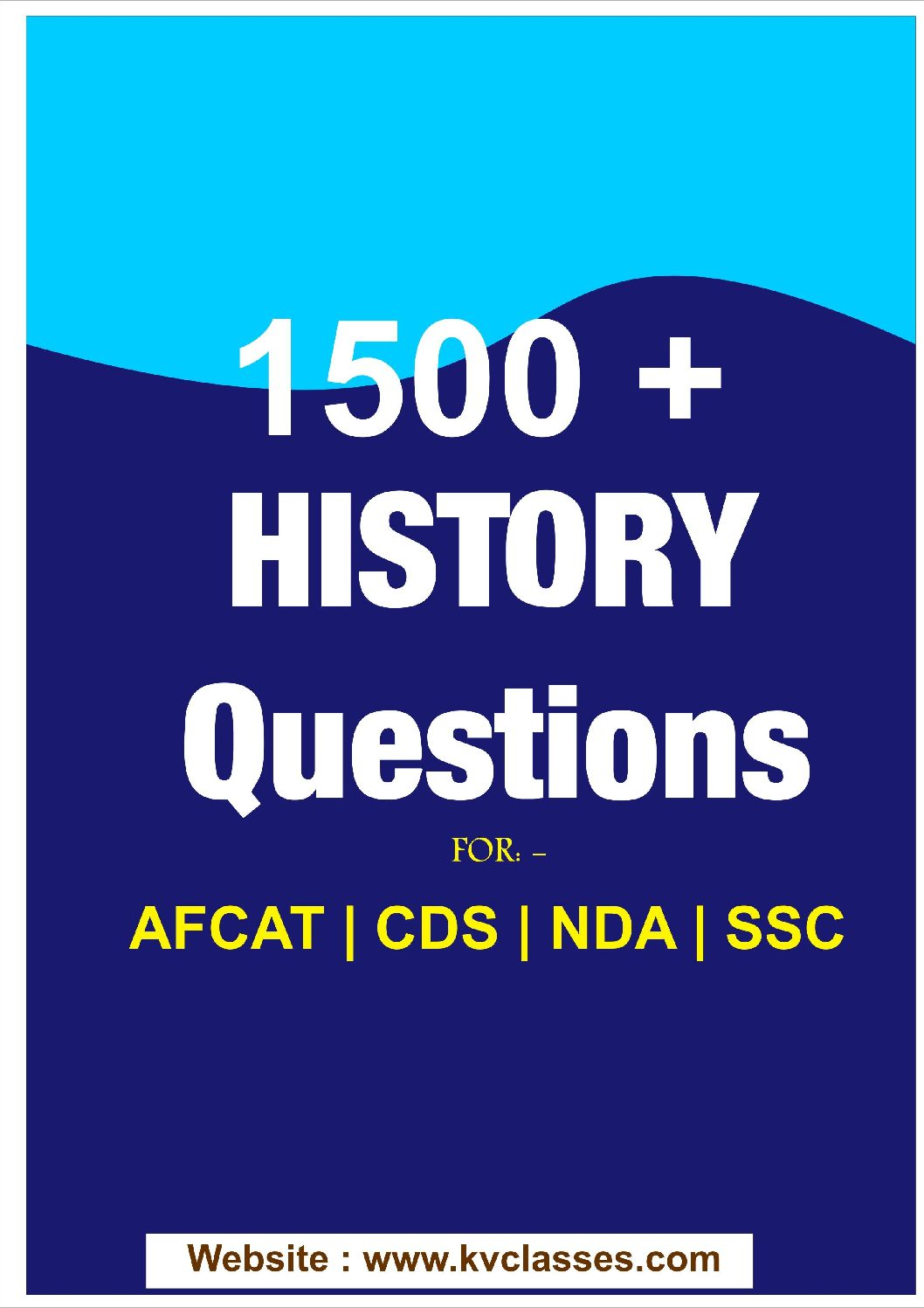 1500 History Questions Answers-For-CDS-AFCAT-NDA-TA-1,SSC PDF download