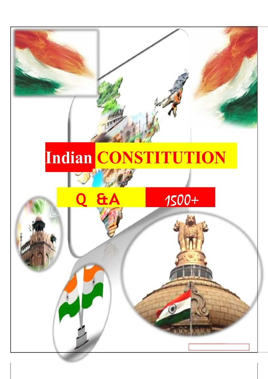 1500 INDIAN CONSTITUTION Questions Answers Pdf download