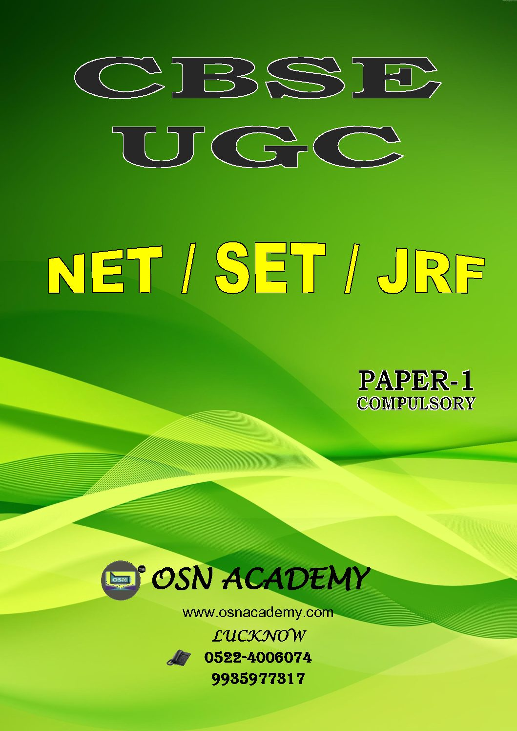 UGC NET PAPER – 01 Complete Study material download