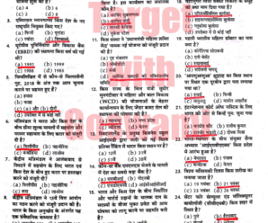 MCQs Current Affairs 2017 in Hindi PDF Download