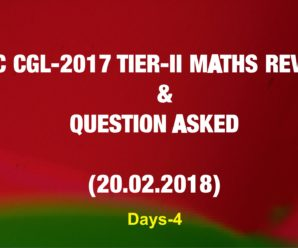 SSC CGL 2017 Tier-2 Maths Review & Questions Asked (20.02.2018)