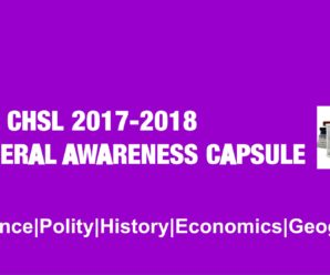 G.A. Power Capsule for SSC CHSL and Railway Recruitment Exam PDF Download