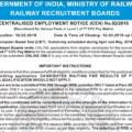 Railway RRB Recruitment 2018 : Apply Now Railway Group D 62907 Post