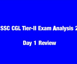 SSC CGL Tier-II Exam Analysis 2018:Questions Asked In SSC Cgl Tier 2