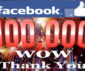 We have more than 100,000 (One Lakh) inspired members on the Facebook page!!