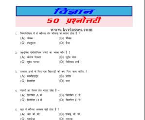 Science 50 Most Important GK PDF Download