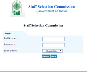 SSC CHSL TIER-I 2017 OFFICIAL Answer key PDF download