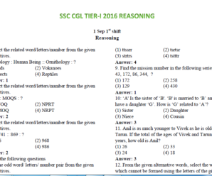 SSC CGL TIER-I 2016 REASONING 30 SETS IN ENGLISH PDF