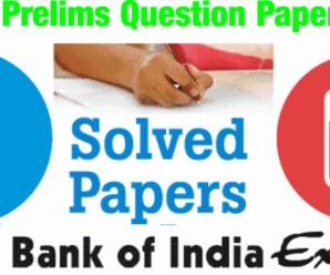 SBI PO Prelims Question Paper 2017 PDF