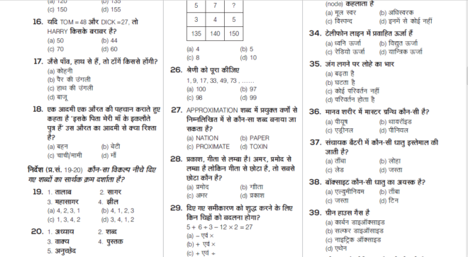 RRB ALP Technician Practice Set Paper-03 PDF in Hindi
