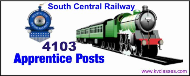 RRB recruitment 2018: Apply for 4103 posts in South Central Railway