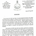 IMD Official Notice Regarding BE / B Tech (4 Years Course) Eligibility