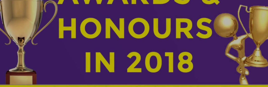 Awards And Honours 2018