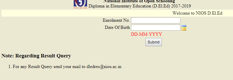D.El.Ed Result Declared Examination held in May-June 2018 : Check Here