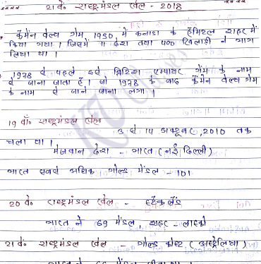 6 Months Current Affairs in Handwritten Notes PDF Download – KV Classes