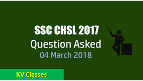 General Awareness Questions Asked In SSC CHSL 2017 Tier-I Exam