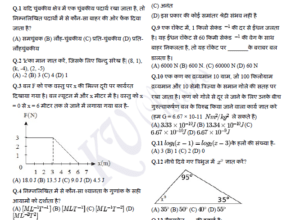 RRB ALP Stage 2 Part-B Mock test : Physics & Maths