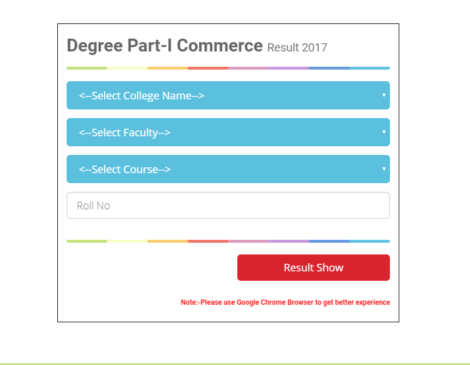 BNMU Degree Part 1 Result Out