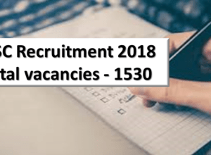 JSSC Recruitment 2018 Update