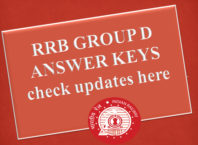 RRB Group D Exam 2018: Answer keys to be released in January