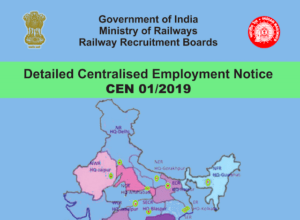 RRB NTPC 2019 CEN 01/2019 Official Notification PDF Download
