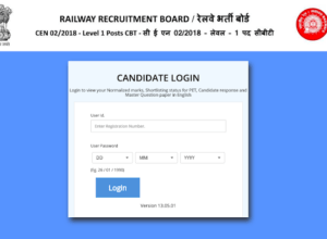 Check Your Raw Marks in RRB Group D 02-2018 Examination