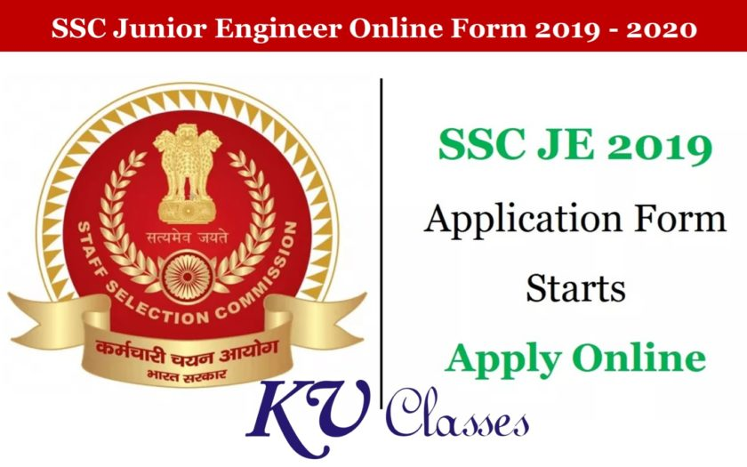 SSC Junior Engineer Recruitment 2019