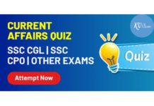 Top 10 Current Affairs Quiz 2020