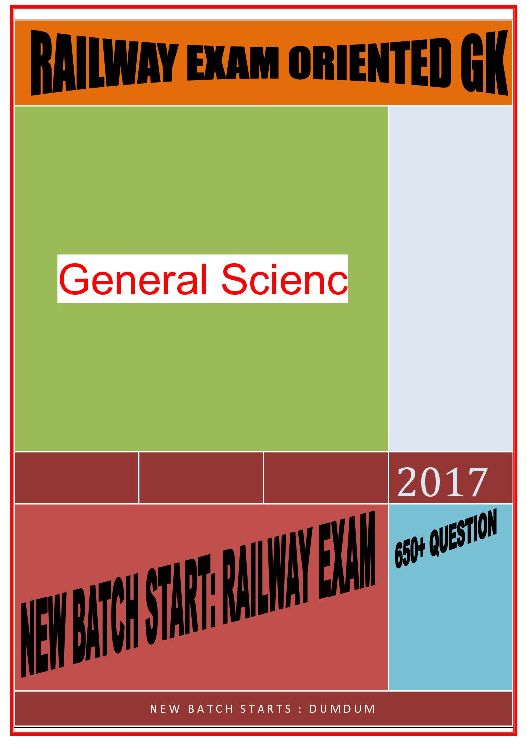 650+ QUESTION RAILWAY EXAM ( SCIENCE PART) (1) Download