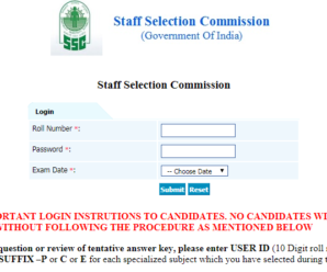 SSC IMD Scientific Assistant Answer key out