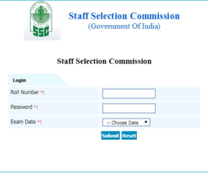 SSC JE 2017 Answer Keys Released Download Here