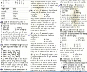 UPPSC RO/ARO Samiksha Adhikari Solved Question Paper 2018 PDF