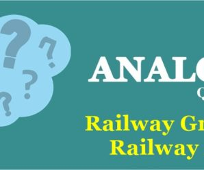 ANALOGY OR SIMILARITY Asked in Previous Exams for Railway Group D