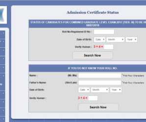 SSC CGL Tier III 2018: Admit Card Status Out