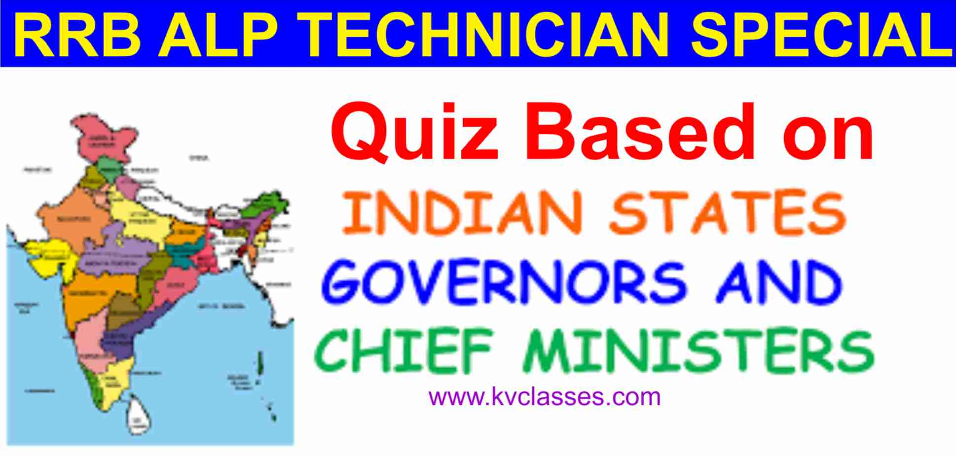 CHIEF MINISTER AND GOVERNOR INDIAN STATES QUIZ-01