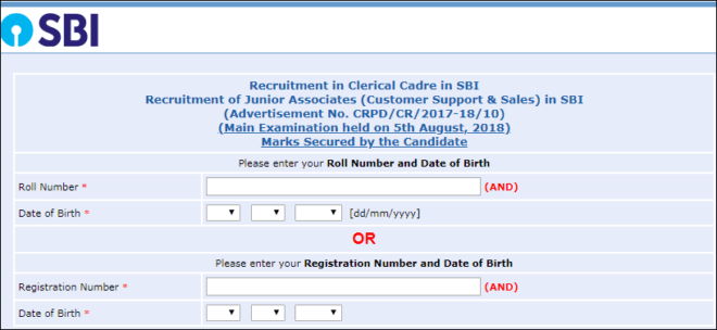 SBI Clerk Marks Out: Check Now