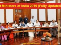 Cabinet Ministers of India 2019 (Fully Updated)