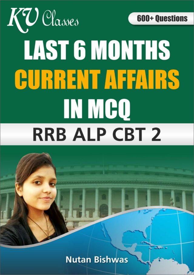 Last Six Months Current Affairs 2018 in MCQs For RRB ALP CBT-02