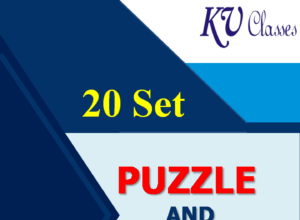 20 Set High Level Puzzle and Sitting Arrangement for IBPS Clerk Mains