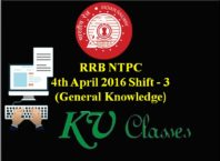 4th April 2016 Shift 3