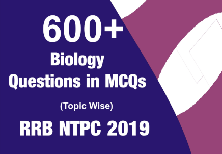 600 + Biology Questions in MCQs Hindi