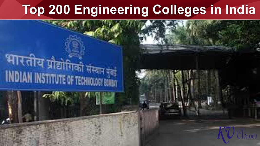 Top 200 Engineering Colleges in India