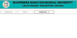 BNMU Part II Result 2020 Released Check Here: Bhupendra Narayan Mandal University has released the BNMU Part II Result 2020